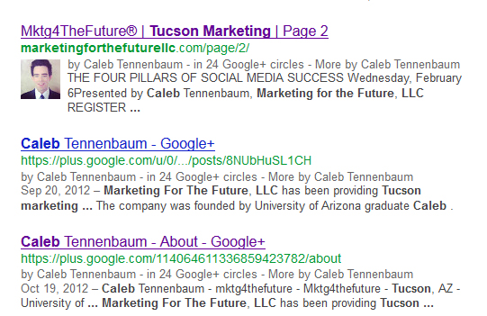 CAleb Tennenbaum Marketing